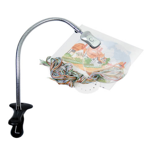 Hands free magnifiers and stands for Craft lamp with magnifier